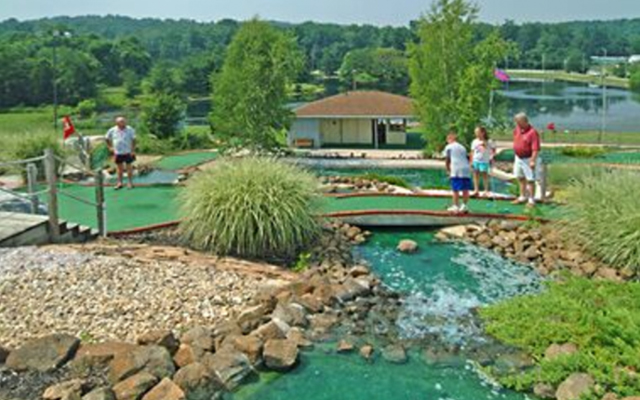 Enjoy Golf at Granite Hill Camping Resort